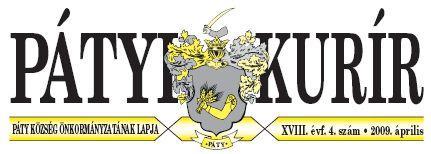 Pátyi Kurír logo